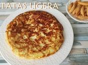 Tortilla patatas ligera