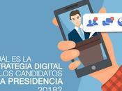 ¿Cuál estrategia digital candidatos presidencia 2018?