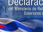 EE.UU. ante mentiras sónicas declaración Cuba]