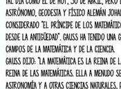 """Príncipe matemáticos"" Carl Friedrich Gauss nació abril"