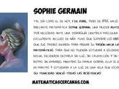 brillante matemática Sophie Germain nació abril
