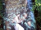 bosque sabe nombre (Alaitz Leceaga)