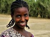 Niña nací Etiopía