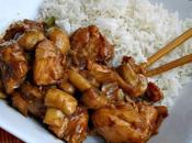 Salteado pollo champiñones thai