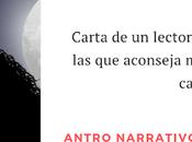 Carta lector: razones aconseja leer novela Héroes cajón