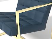 Nuevo diseño silla azul