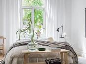 Bambú, madera clara tonos suaves para dormitorio sereno fresco