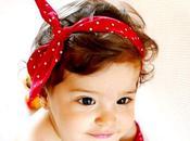 Banda para pelo bebé niña