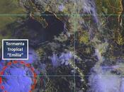 "tormenta tropical ""Emilia"" forma Pacífico representar peligro"