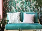 Ideas inpiración para decoración tropical salón