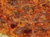 Receta fácil rápida pizza gluten crujiente masa casera