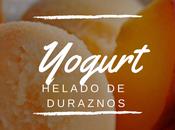 Yogurt Helado Duraznos
