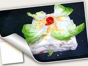 Pastel verano salado molde atún