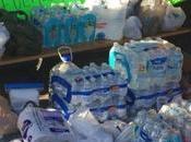 Colectan víveres para apoyar afectados incendio Tamazunchale