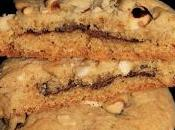 Cookies avellanas rellenas Nutella