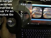 Cómo cargar aplicaciones Android Oculus