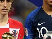 Premios Mundial: Modric, Balón Oro; Mbappé, mejor joven.