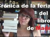 Crónica feria libro Madrid