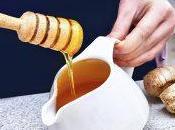 Jengibre miel para buena salud