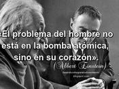 problema hombre está bomba atómica, sino corazón