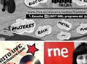 Riot girl bandera negra (radio especial mujeres bateristas