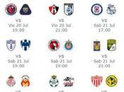 Calendario trasmisiones vivo jornada futbol mexicano