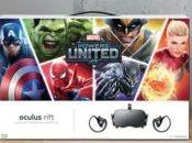 Anunciado pack Marvel Powers United Oculus Rift