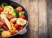 Verduras horno sazonadas deliciosas