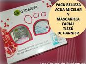 Pack Belleza: Agua micelar Mascarilla facial tissú Garnier