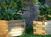 Descubre jardineras madera para jardín