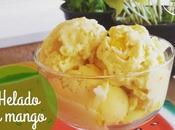 Helado mango saludable, helado casero delicioso