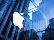 Apple alcanza valoración récord bolsa valores billón dólares