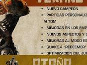 Quake Champions presenta hoja ruta para este 2018