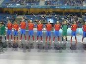 España estrena goleada campeonato Europa fútbol sala