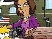Michelle Obama aparecerá SImpson