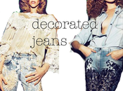 Decorated Jeans Trend