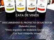 DEALBARIZA: Cata Balandro Vinos: Vinos Marco Jerez: Jueves agosto 2018