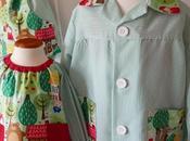 Batas escolares Patrones Costura