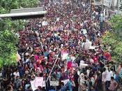 Bangladesh: Jóvenes protestan seguridad justicia