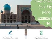 Cómo sacarse e-Visa Uzbekistán