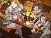 Primera imagen diseño personajes para anime Akanesasu Shoujo