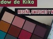 Paleta Smart Cult Kiko: Reseña, swatches looks ella