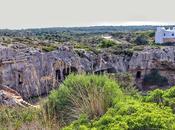 Necrópolis Cala Morell, Menorca Ciudad muertos