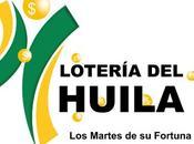 Lotería Huila martes agosto 2018