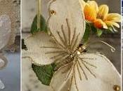 lindas mariposas tela arpillera yute