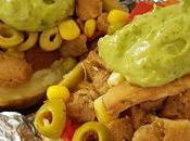 Patatas asadas feria, versión vegana