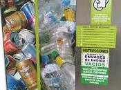 Máquina reciclaje latas botellas plástico Alcañiz