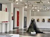 """Hoja sala """"mujer, divino tesoro"""". Centro Cultural Villa Mostoles. Ausín Sáinz"""