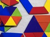 JUEGO LÓGICA contiene piezas grandes, para trabajar...