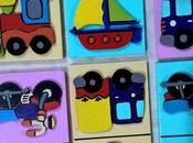Domino medios transporte contiene piezas grandes...